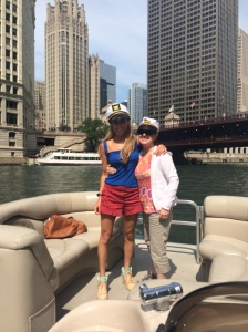 Yacht* life with the birthday girl.  *pontoon boat on the river...Diddy did not show up.