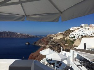 the view from our terrace was terrible, right?? *and every day was this clear and stunning*